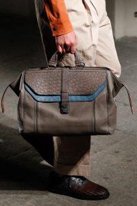 Bottega Veneta Dark Gray Top Handle Bag - Spring 2017