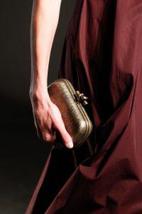 Bottega Veneta Gold Knot Clutch Bag - Spring 2017