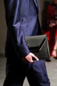 Bottega Veneta Gray Clutch Bag - Spring 2017