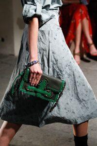 Bottega Veneta Green Flap Bag - Spring 2017