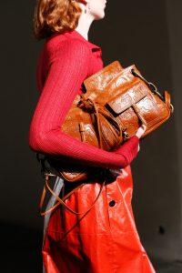 Bottega Veneta Orange Floral Embossed Shoulder Bag - Spring 2017