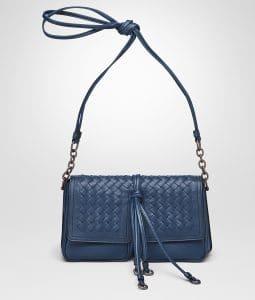 Bottega Veneta Pacific Nappa Intrecciato Shoulder Bag