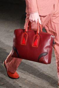 Bottega Veneta Red Briefcase Bag - Spring 2017