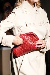 Bottega Veneta Red Intrecciato Clutch Bag - Spring 2017