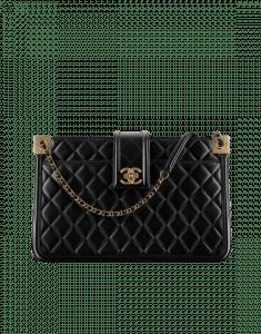 Chanel Black Elegant CC Small Shopping Bag