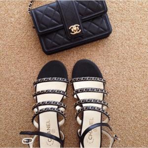 Chanel Black Elegant CC WOC Bag