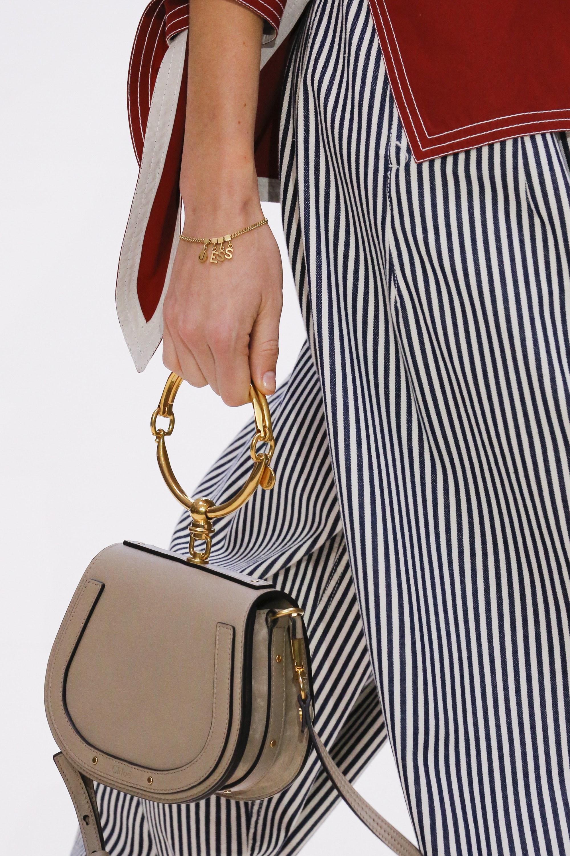Chloe Gold Ring Bag