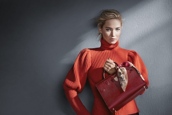 Jennifer Lawrence Returns To Dior For Fall Winter 2016 Campaign ... 475f152905288