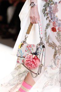Fendi Beige Floral Printed Flap Bag 3 - Spring 2017