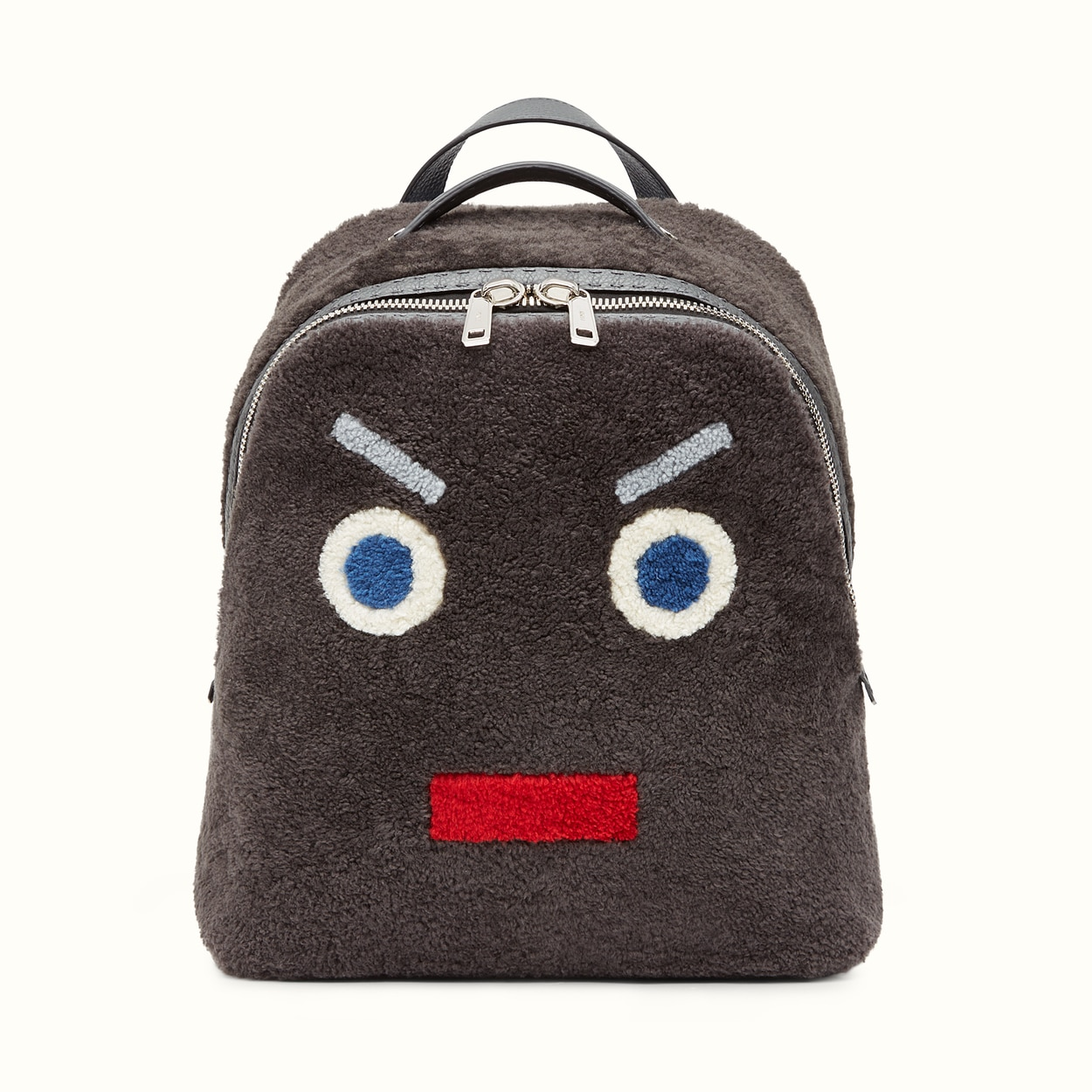6a3d9b6ff0 Fendi Faces Backpack as Seen on Kylie Jenner Fall Winter 2016 ...