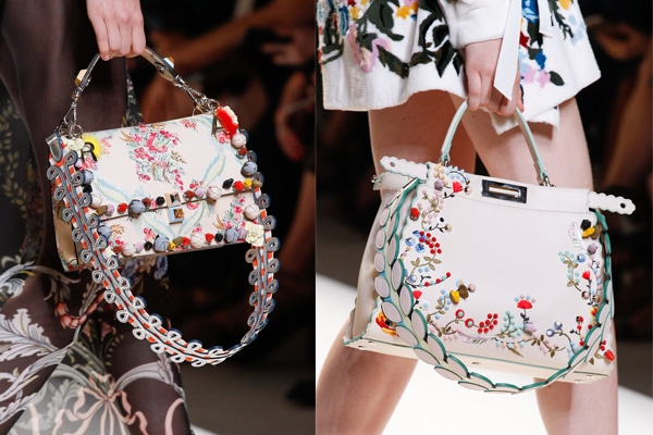 Fendi Spring Summer 2017 Runway Bag Collection  c48cb25271634