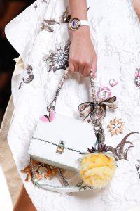 Fendi White Flap Bag - Spring 2017