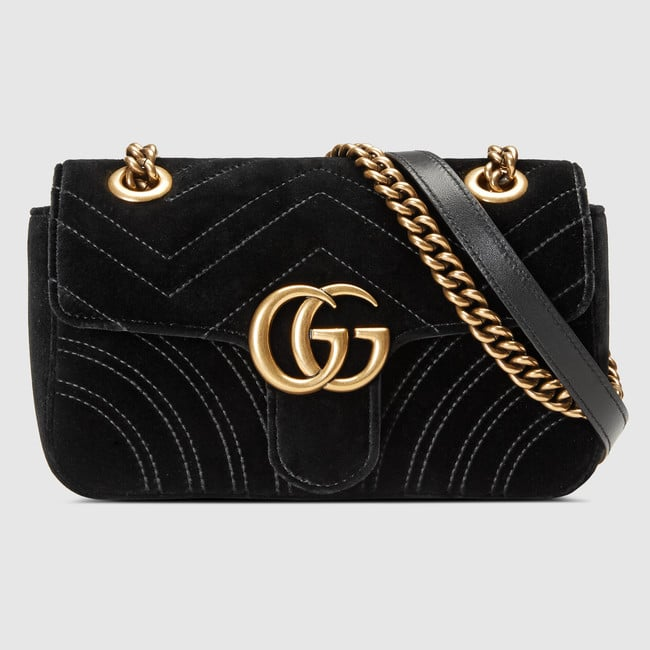 198f752271f6c1 Gucci GG Marmont Bag Reference Guide | Spotted Fashion