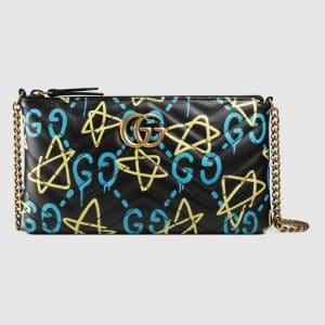 Gucci Black GucciGhost Mini Bag