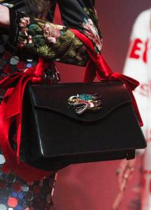 Gucci Black Top Handle Bag - Spring 2017