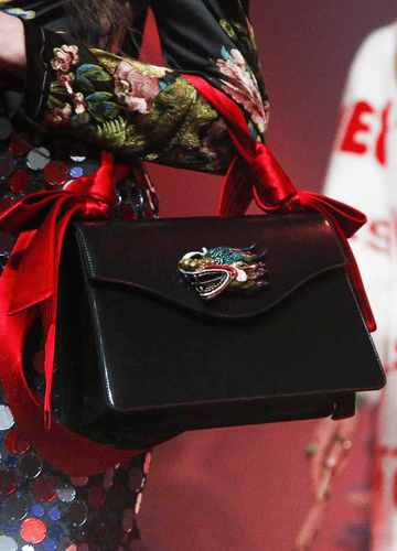 Gucci Spring Summer 2017 Runway Bag Collection Spotted