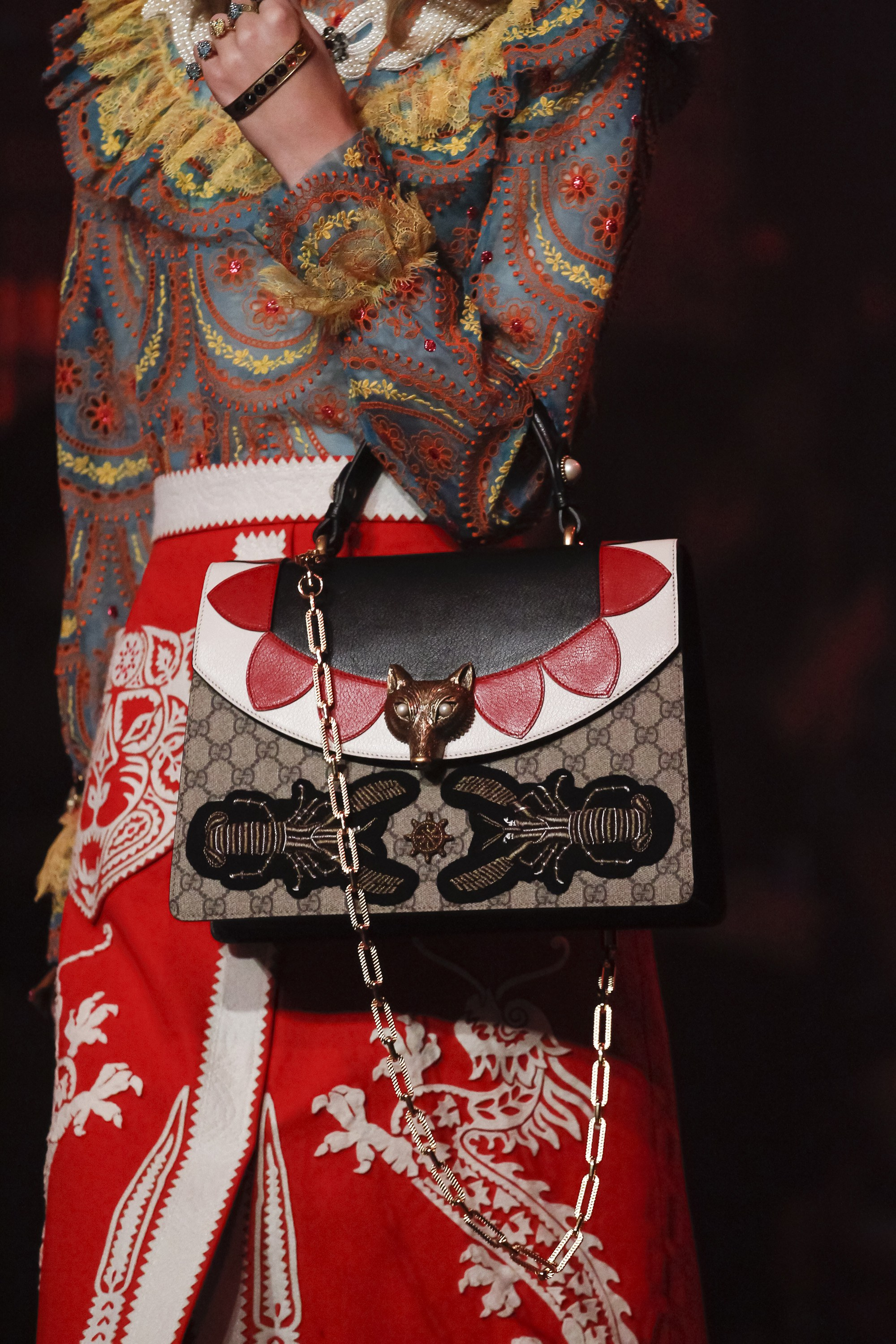Gucci Spring Summer 2017 Runway Bag Collection Spotted Fashion