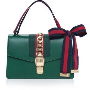 Gucci Green Sylvie Shoulder Bag