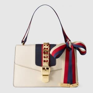 Gucci Off-White Sylvie Shoulder Bag