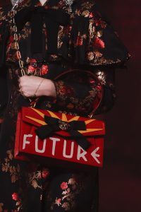 Gucci Red Printed Flap Bag 2 - Spring 2017