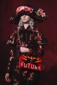 Gucci Red Printed Flap Bag - Spring 2017