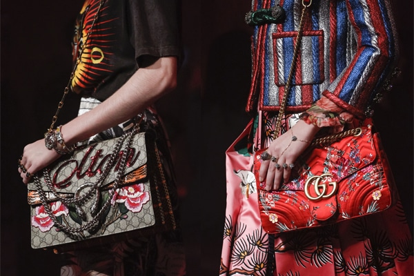 f91447a3a9aeb8 Gucci Spring/Summer 2017 Runway Bag Collection   Spotted Fashion