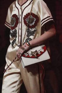 Gucci White/Red Flap Bag - Spring 2017