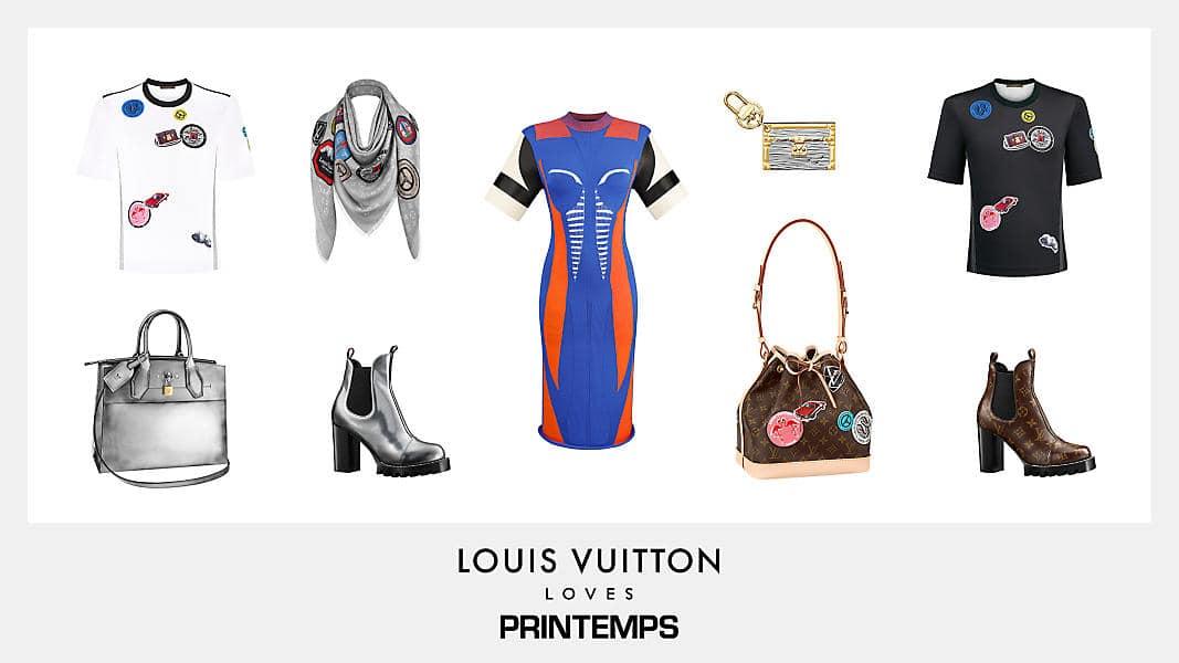 Louis Vuitton Loves Printemps Collection