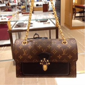Louis Vuitton Noir Victoire Bag 3