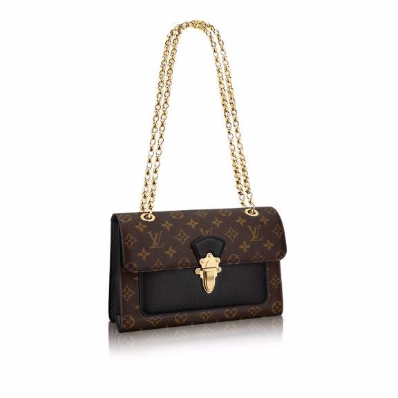 Louis Vuitton Noir Victoire Bag
