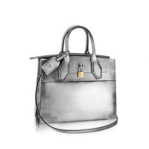 Louis Vuitton Silver City Steamer MM Bag