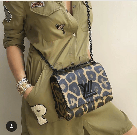 Louis Vuitton Wild Animal Twist Mm Bag 2
