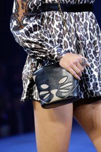 Marc Jacobs Black/White Cat Mini Crossbody Bag - Spring 2017