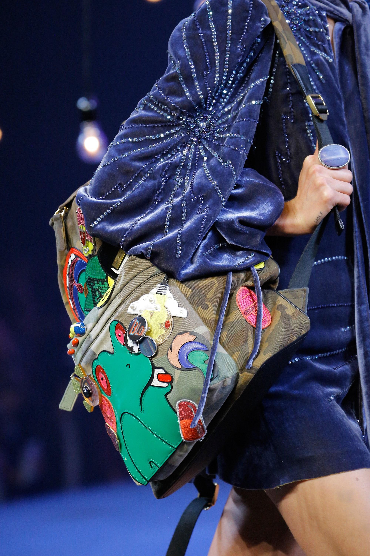 Marc Jacobs Camouflage Backpack Bag Spring 2017