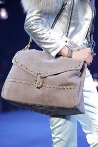 Marc Jacobs Gray Studded Suede Satchel Bag - Spring 2017