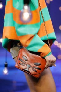 Marc Jacobs Tan Cat Mini Crossbody Bag - Spring 2017