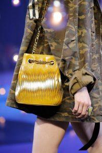 Marc Jacobs Yellow/Gold Drawstring Bag - Spring 2017