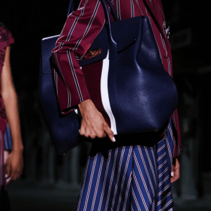 Mulberry Blue Oversized Tote Bag 2 - Spring 2017