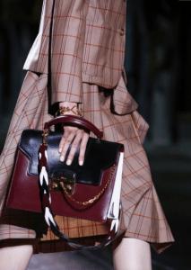 Mulberry Burgundy/Black Top Handle Bag - Spring 2017