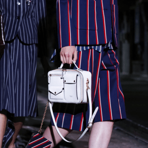 Mulberry White Top Handle Bag - Spring 2017