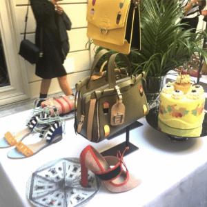 Paula Cademartori Olive Green Tote Bag - Spring 2017