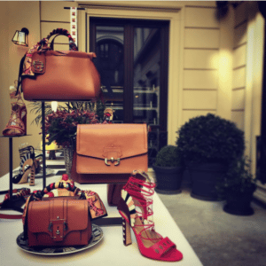 Paula Cademartori Tan Tote and Flap Bags - Spring 2017