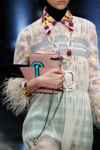 Prada Pink Mini Flap Bag - Spring 2017