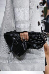 Proenza Schouler Black Drawstring Bag