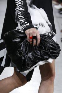 Proenza Schouler Black/White Drawstring Bag 2