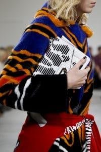 Proenza Schouler White Striped Hava Chain Bag