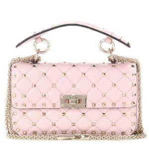 Valentino Poudre Rockstud Spike Small Bag