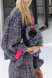 Chanel Multicolor Tweed Clutch Bag - Spring 2017