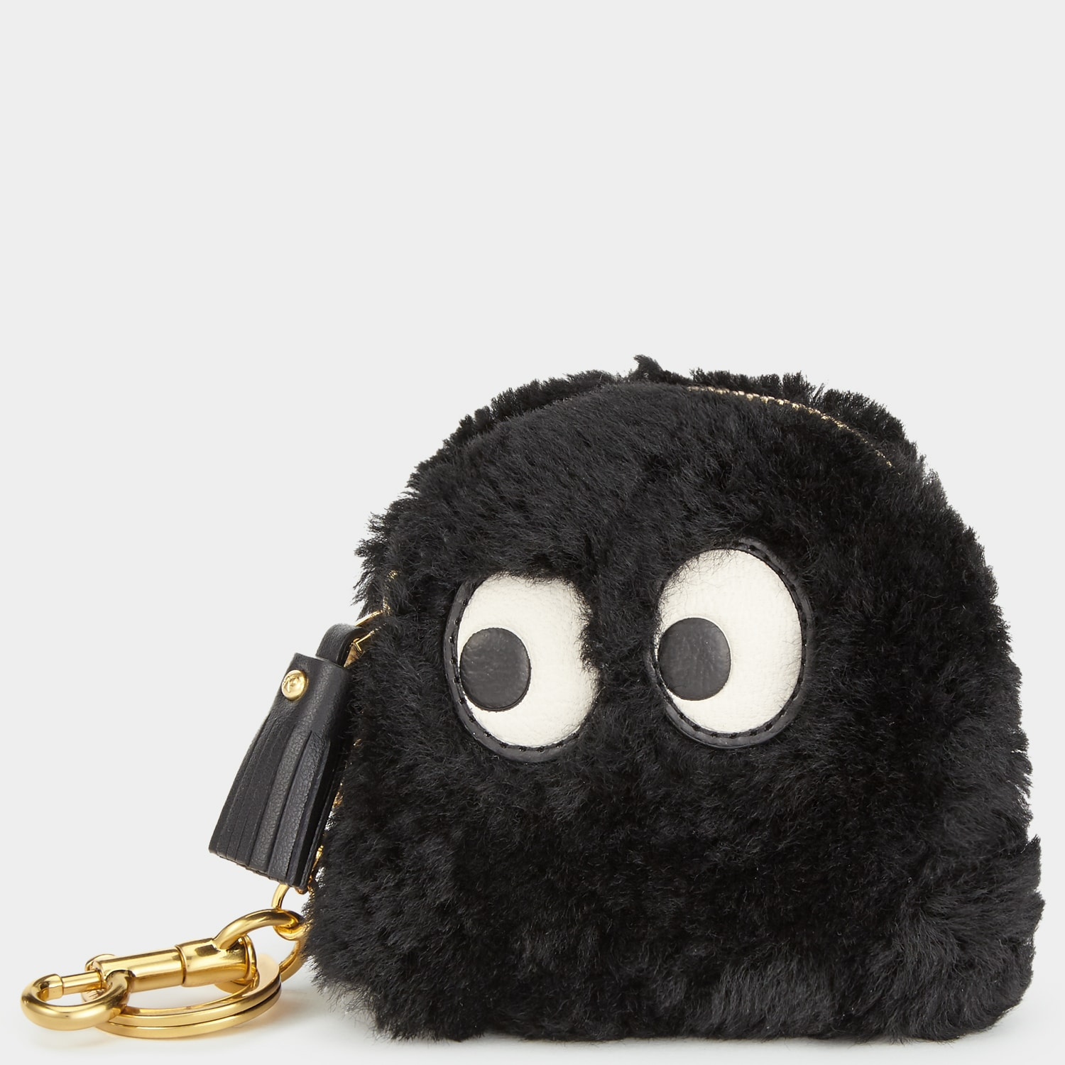 2f7866c8d007 ... Pac-Man Ghost Pouch Bag · Anya Hindmarch Black Shearling Ghost Coin  Purse