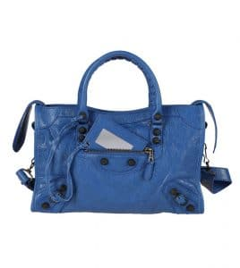 Balenciaga Bluette Giant 12 Gunmetal City S Bag